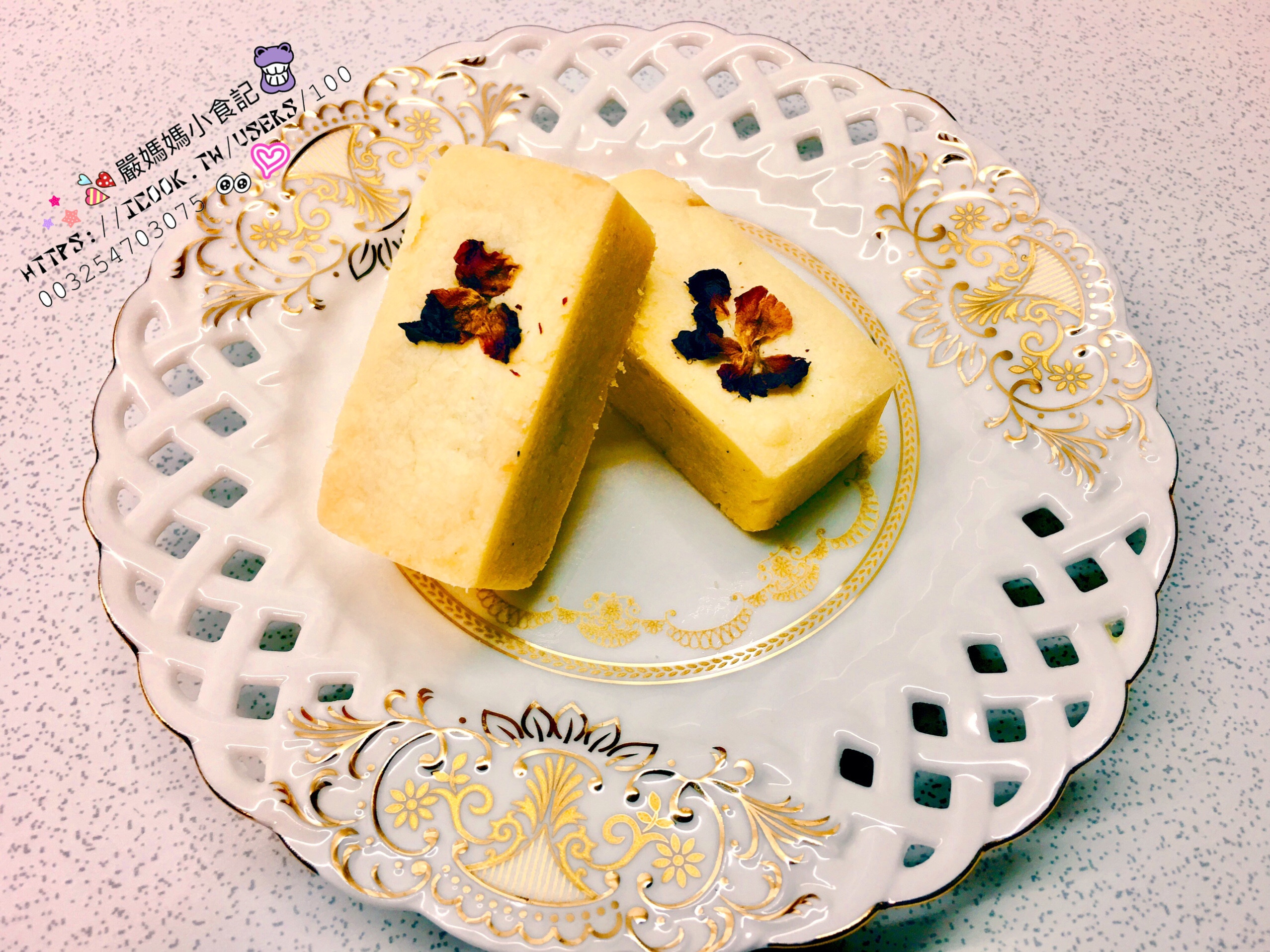 金鑽鳳梨玫瑰酥