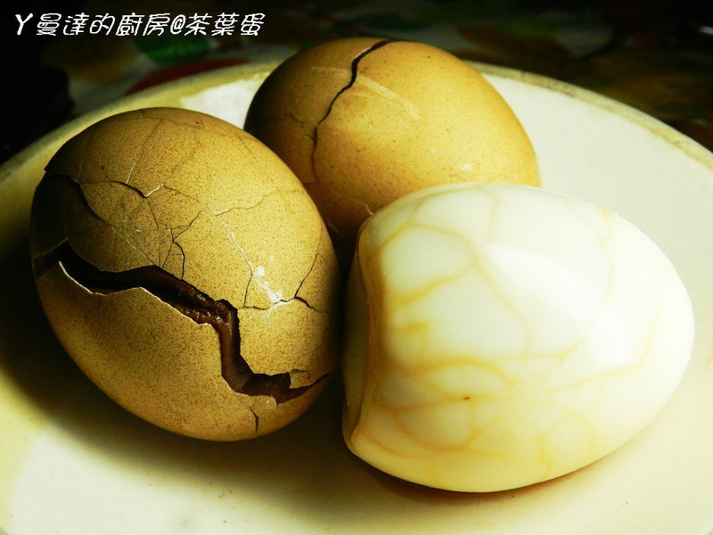 ㄚ曼達的廚房~家常茶葉蛋