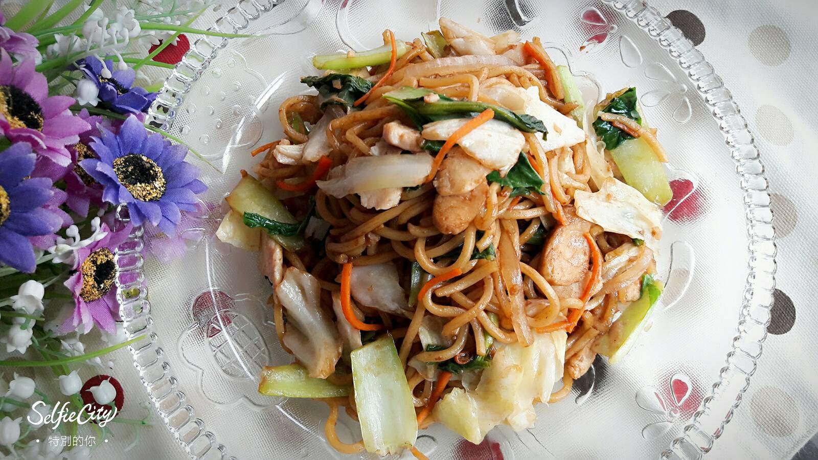 健康早午餐 ~ 日式炒麵 ( やきそば)