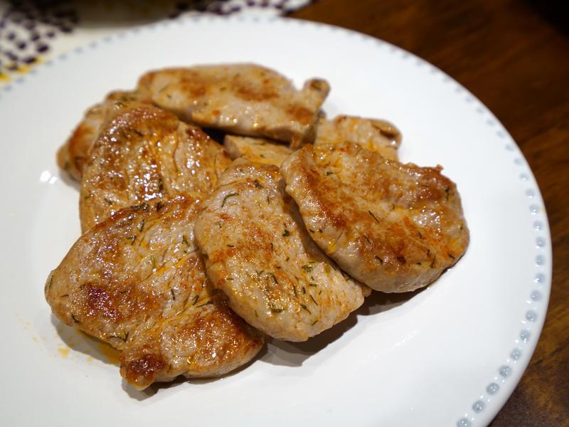 嫩煎豬菲力,不用長時間醃醬油 簡易食譜!