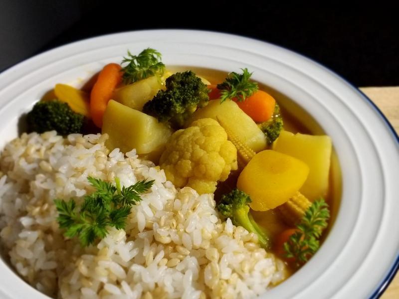 馬鈴薯野蔬咖哩~低卡素食