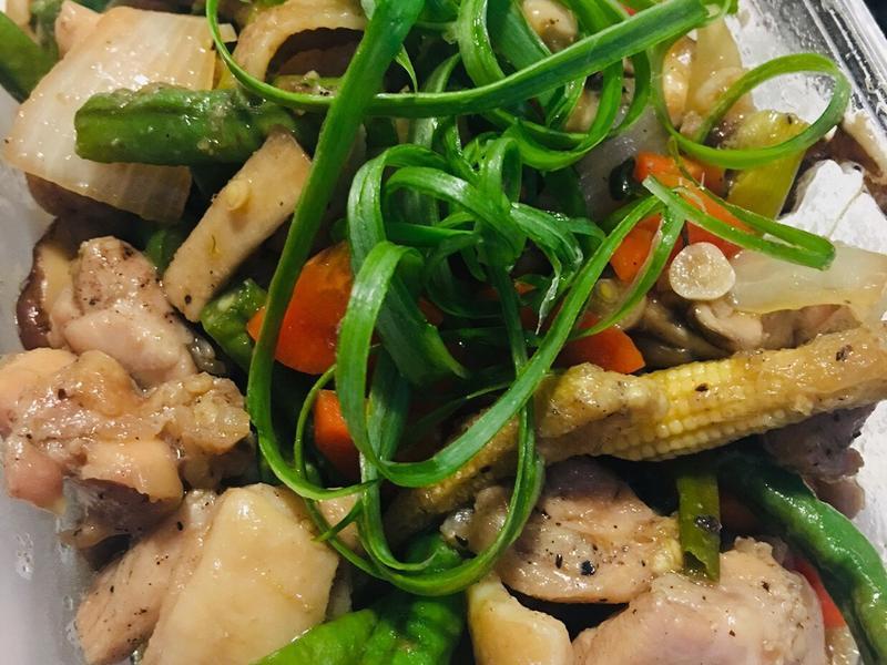 醬燒雞腿肉燴時蔬 好市多 韓式醃烤醬