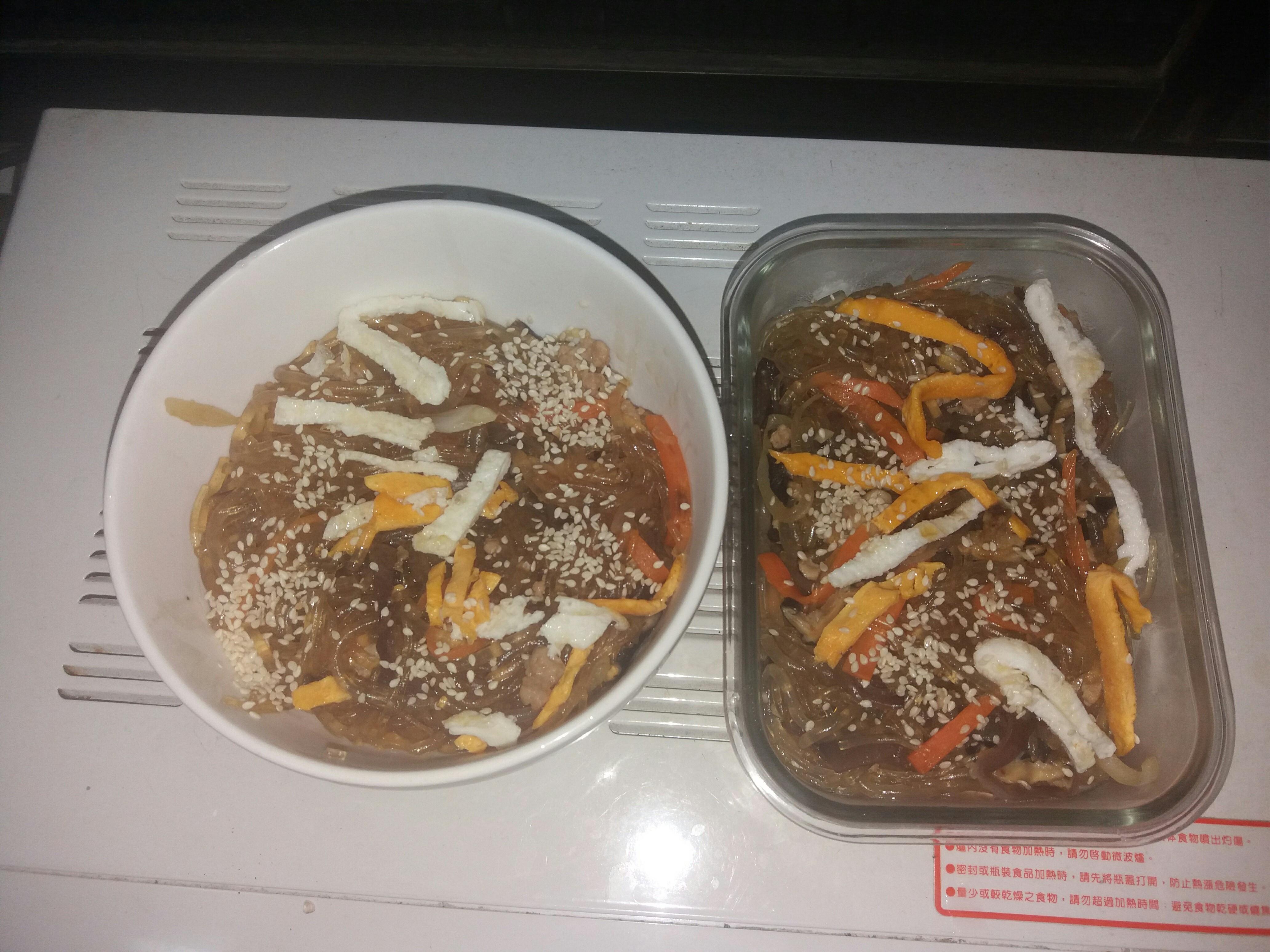 正宗韓式炒雜菜