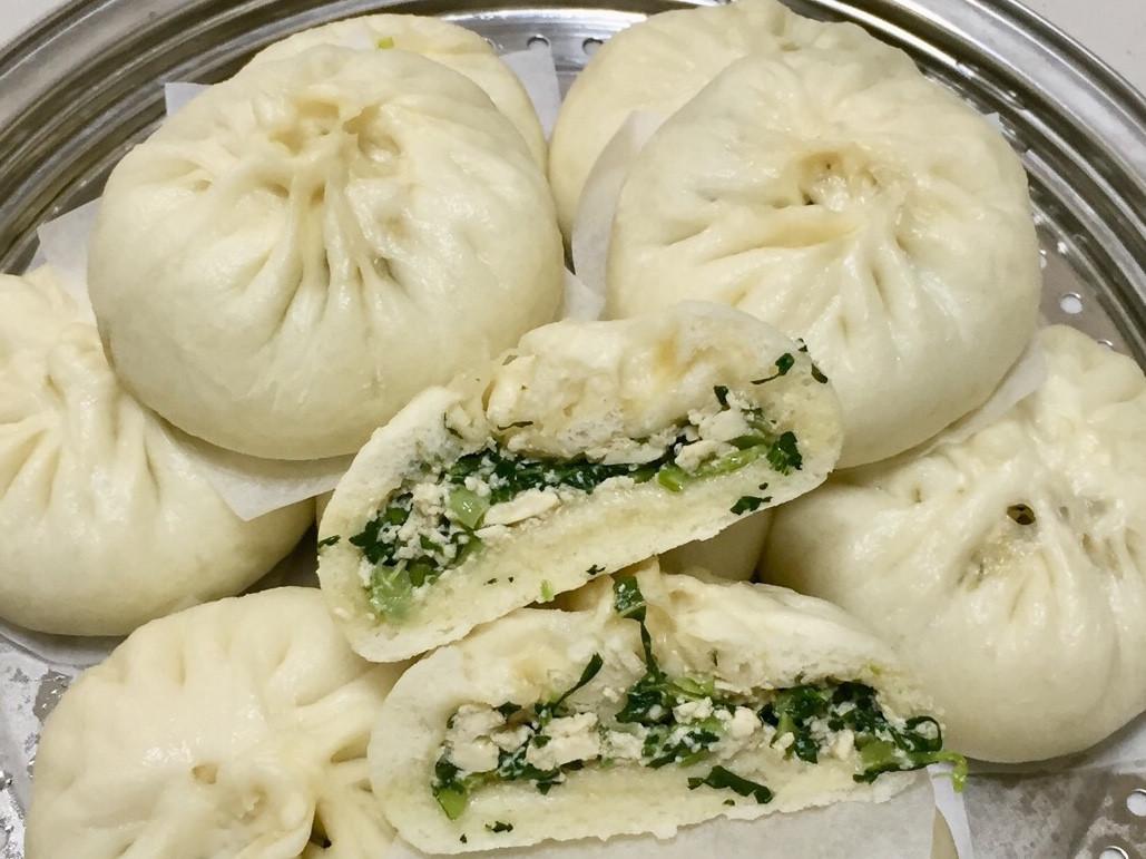 全素-麻香青菜豆腐包