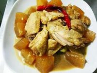 簡易蘿蔔燒雞