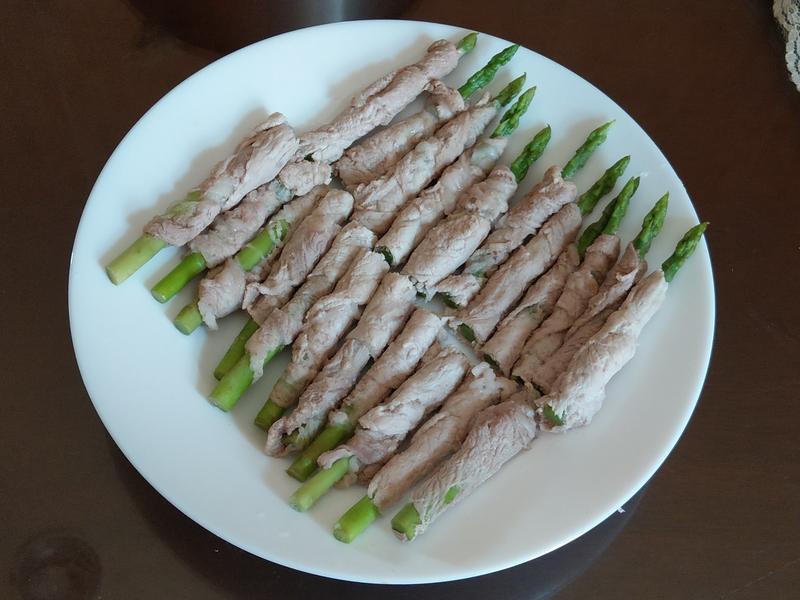 減肥低脂-豬里肌蘆筍捲