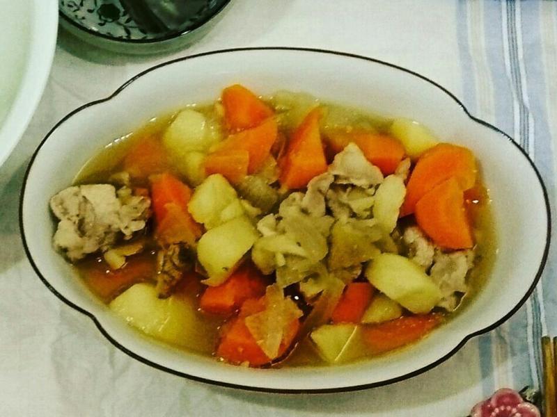 馬鈴薯燉肉(電鍋料理)