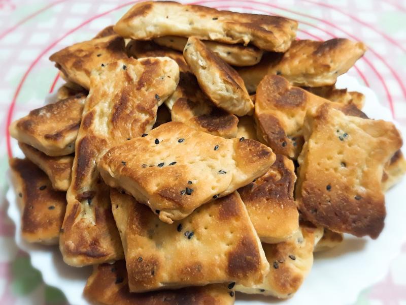 免烤箱芝麻餅乾