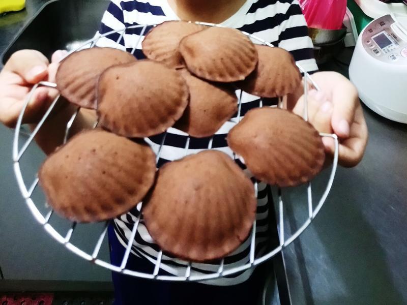 巧克力小蛋糕