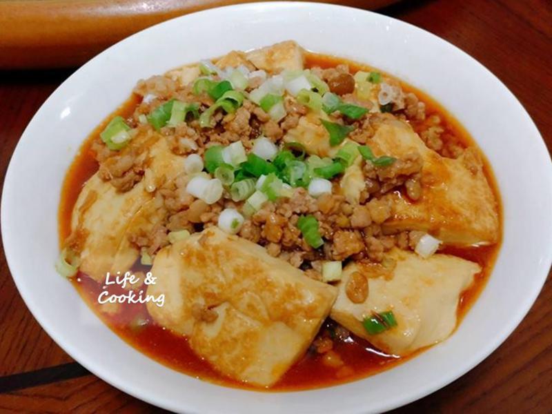 【家常菜】魚香豆腐