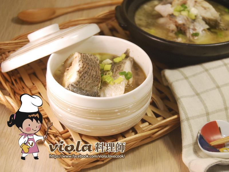 味噌鮮魚湯