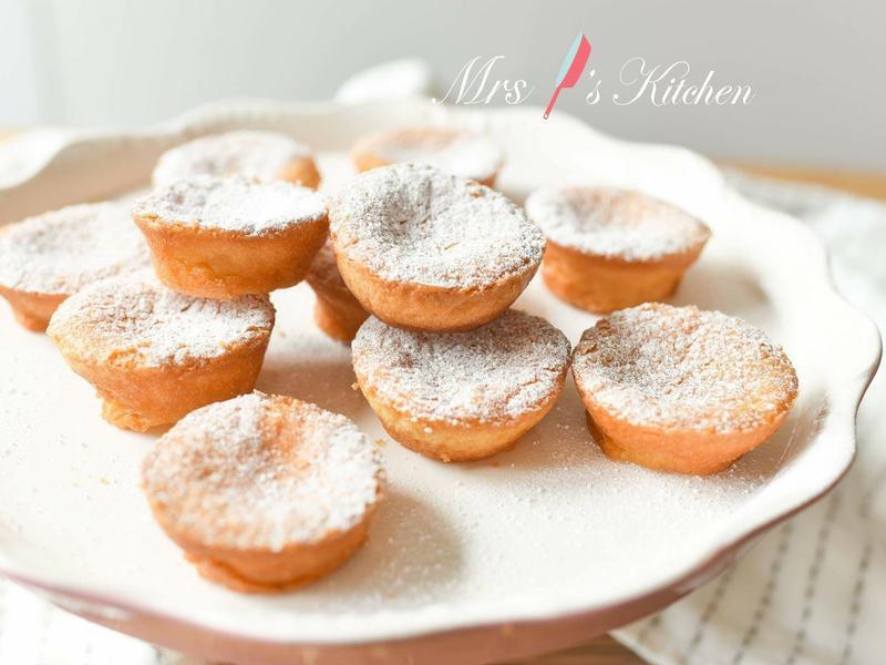 【影片】椰汁麻糬小蛋糕 (三個步驟)