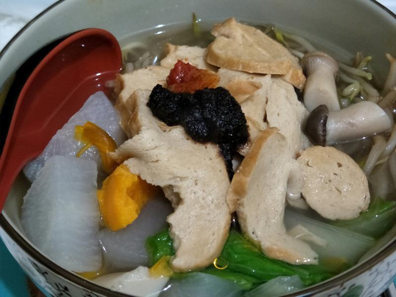 大根菇蔬清香麵