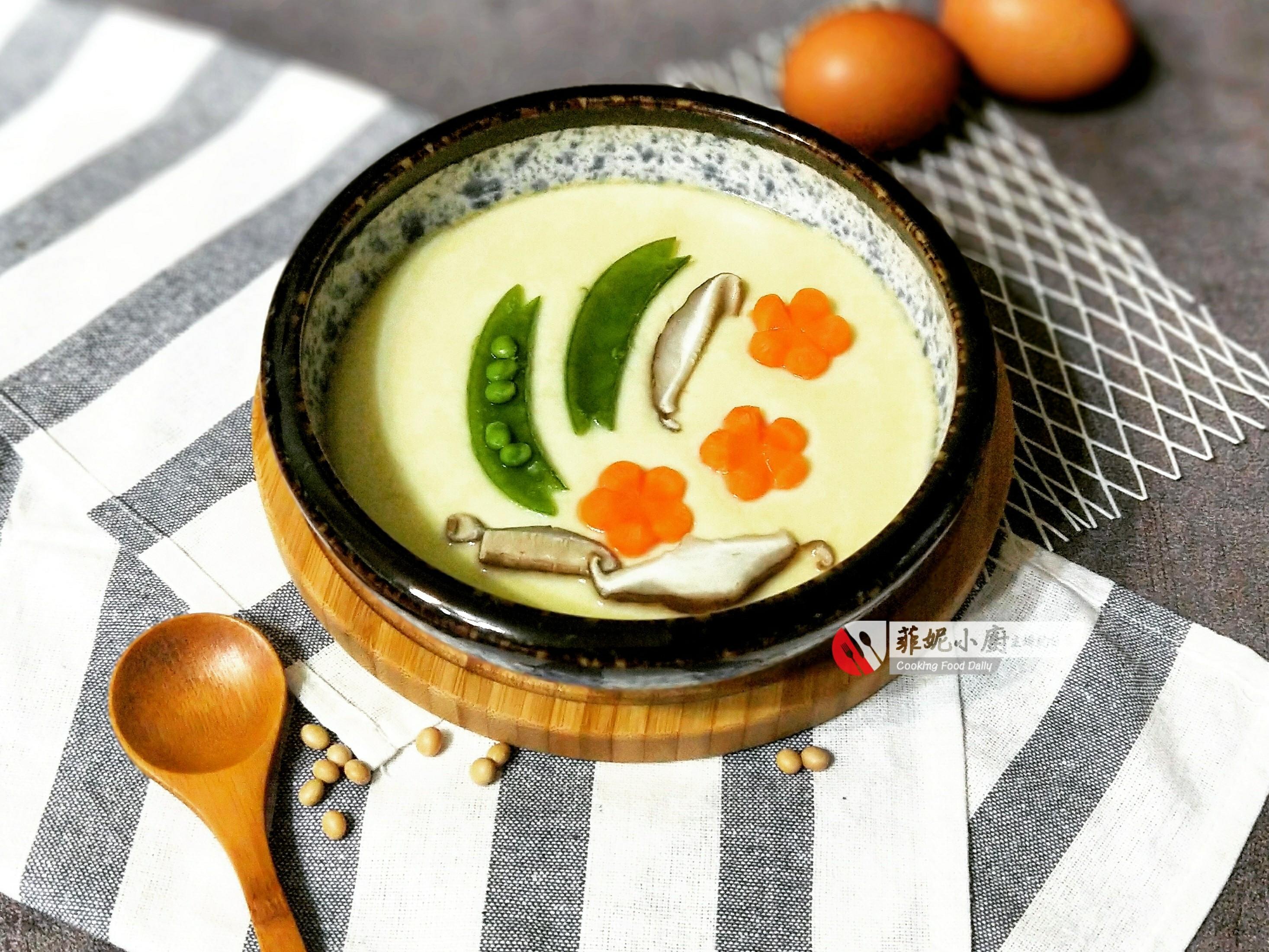 豆香(漿)蒸蛋