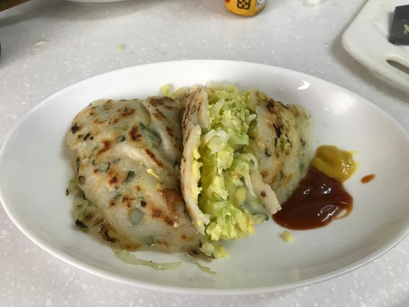 蔬菜蛋餅(高麗菜)