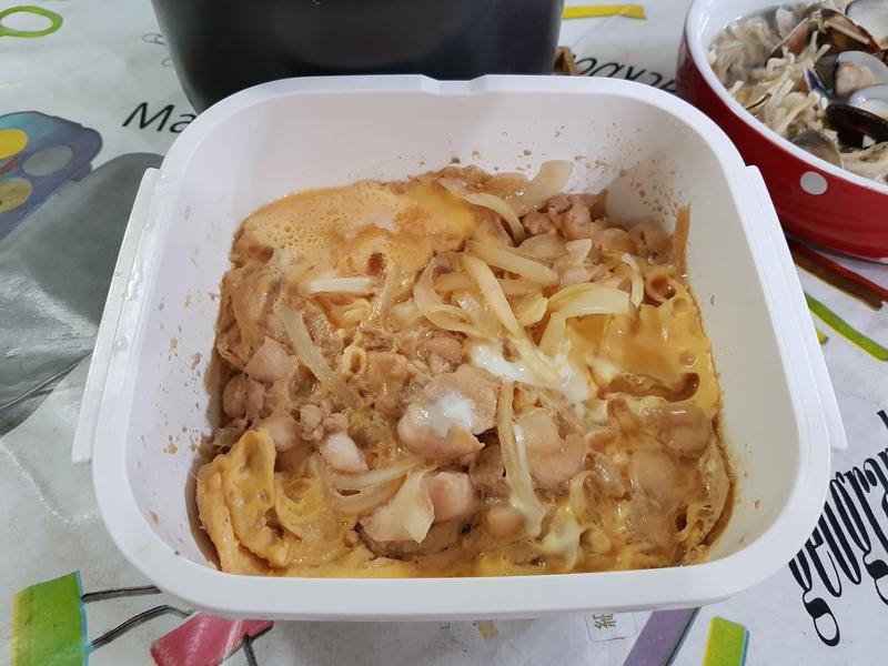 Gourlab微波爐盒煮親子丼飯