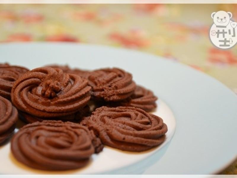 手工巧克力餅乾