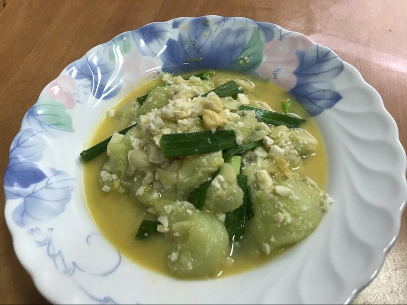 萬用鍋 家常鹹蛋炒絲瓜
