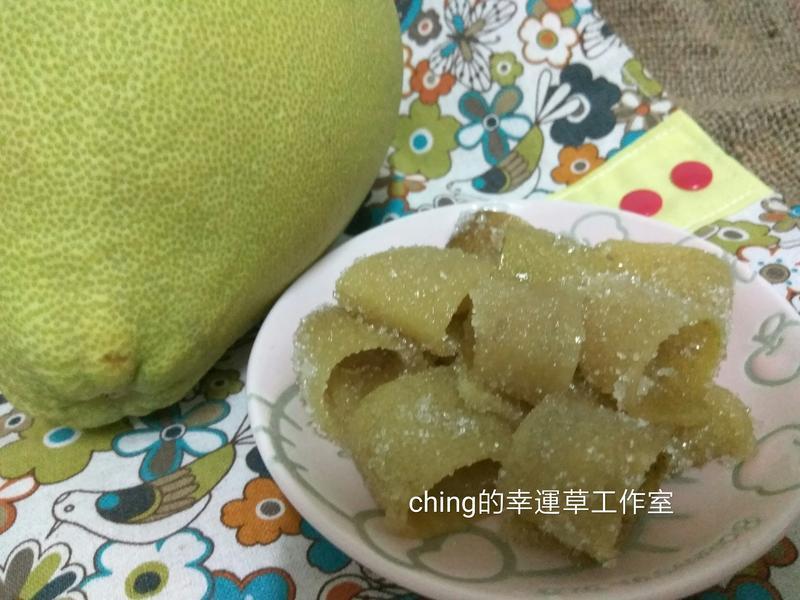 自製柚皮糖