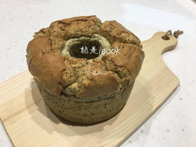 鐵觀音紅茶戚風蛋糕(燙麵法)