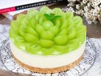 麝香葡萄生乳酪蛋糕(免烤箱)