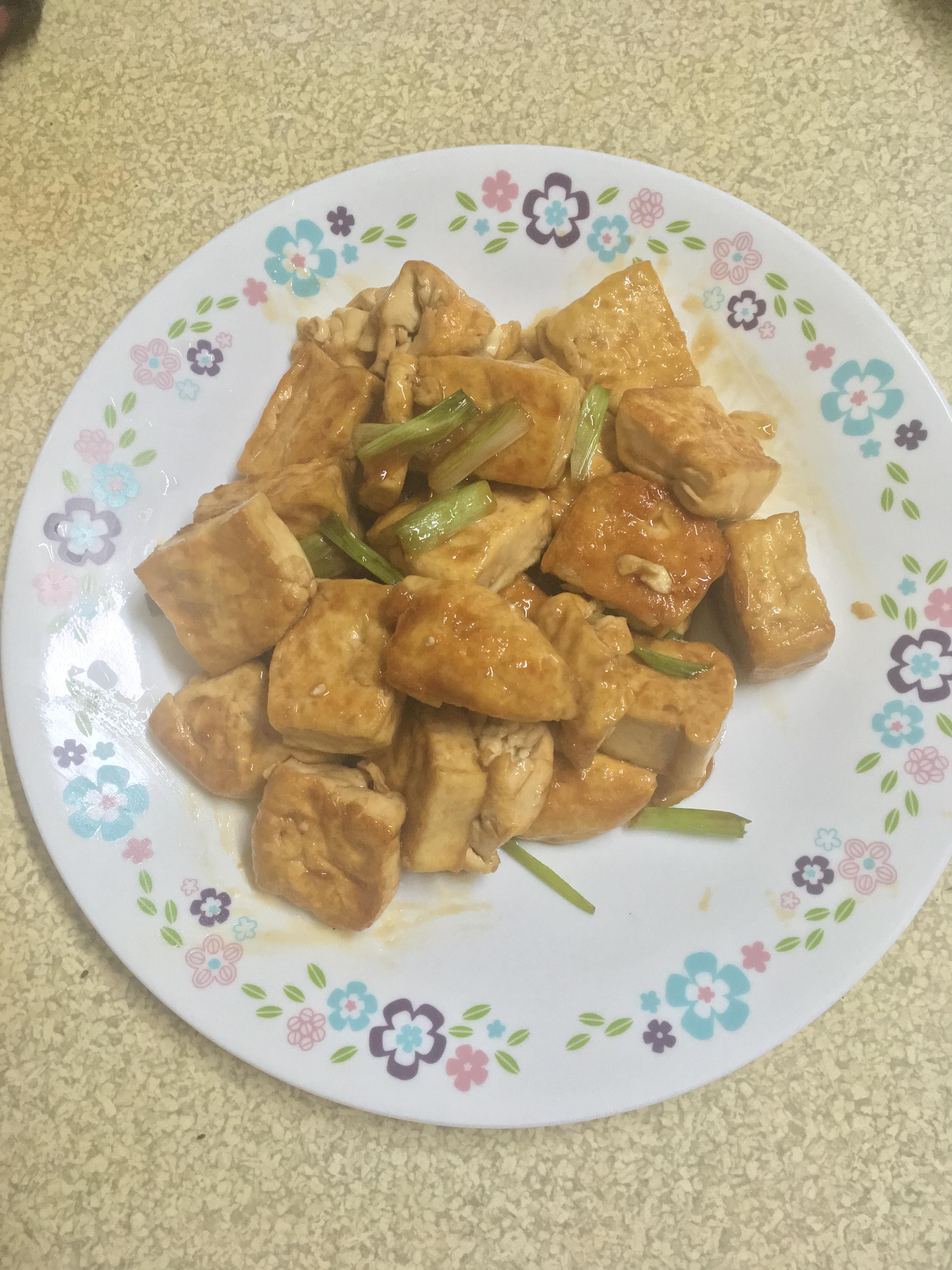 萬用鍋 家常菜 醬煎豆腐