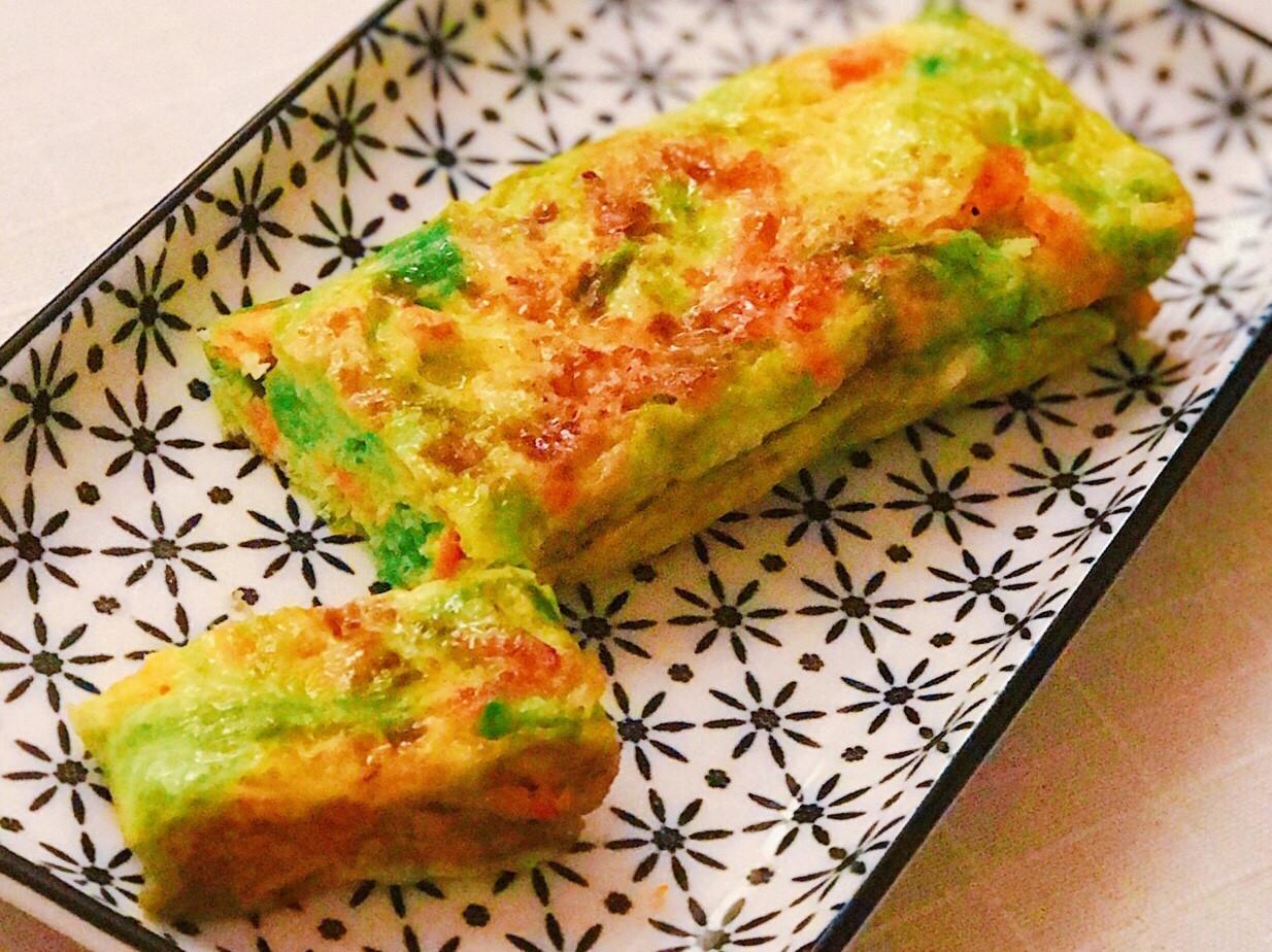 海菜櫻花蝦蛋捲