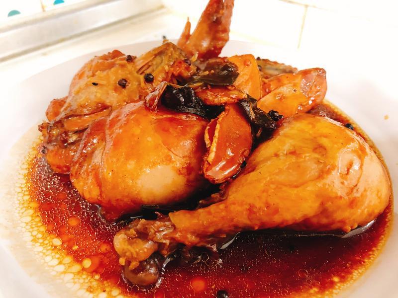 無油料理(電子鍋)-香燉雞腿