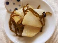 【日式副菜】大根鹽昆布漬