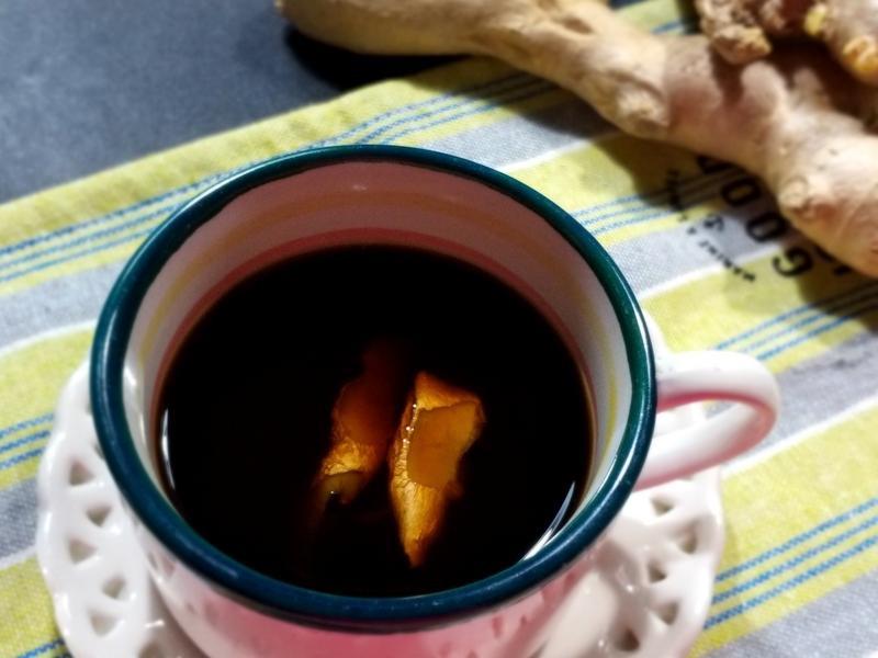 暖暖黑糖薑母茶