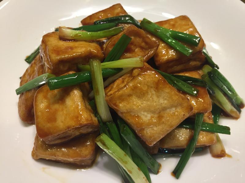 醬熗豆腐燒