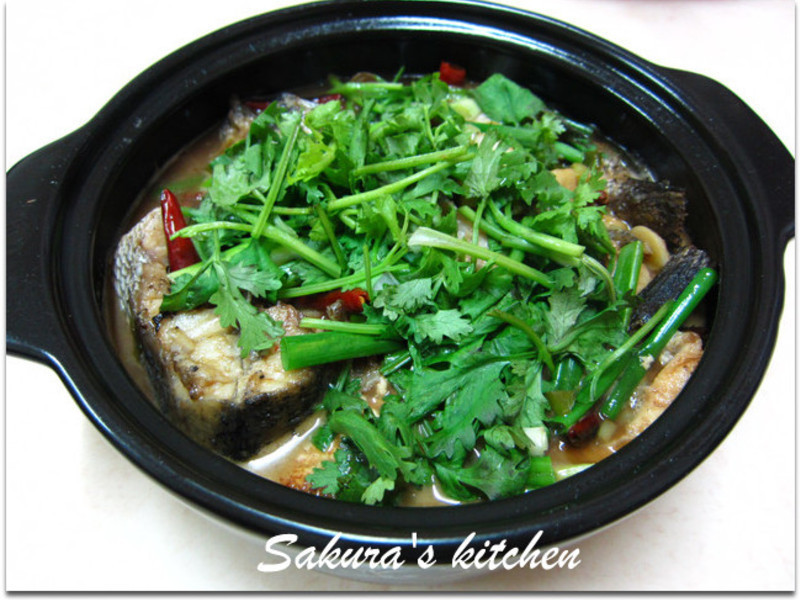 ♥我的手作料理♥紹興醬汁魚
