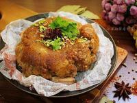 粉蒸雞肉芋頭