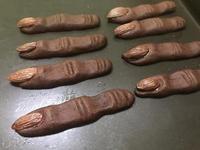 萬聖節🎃 巫婆手指餅乾