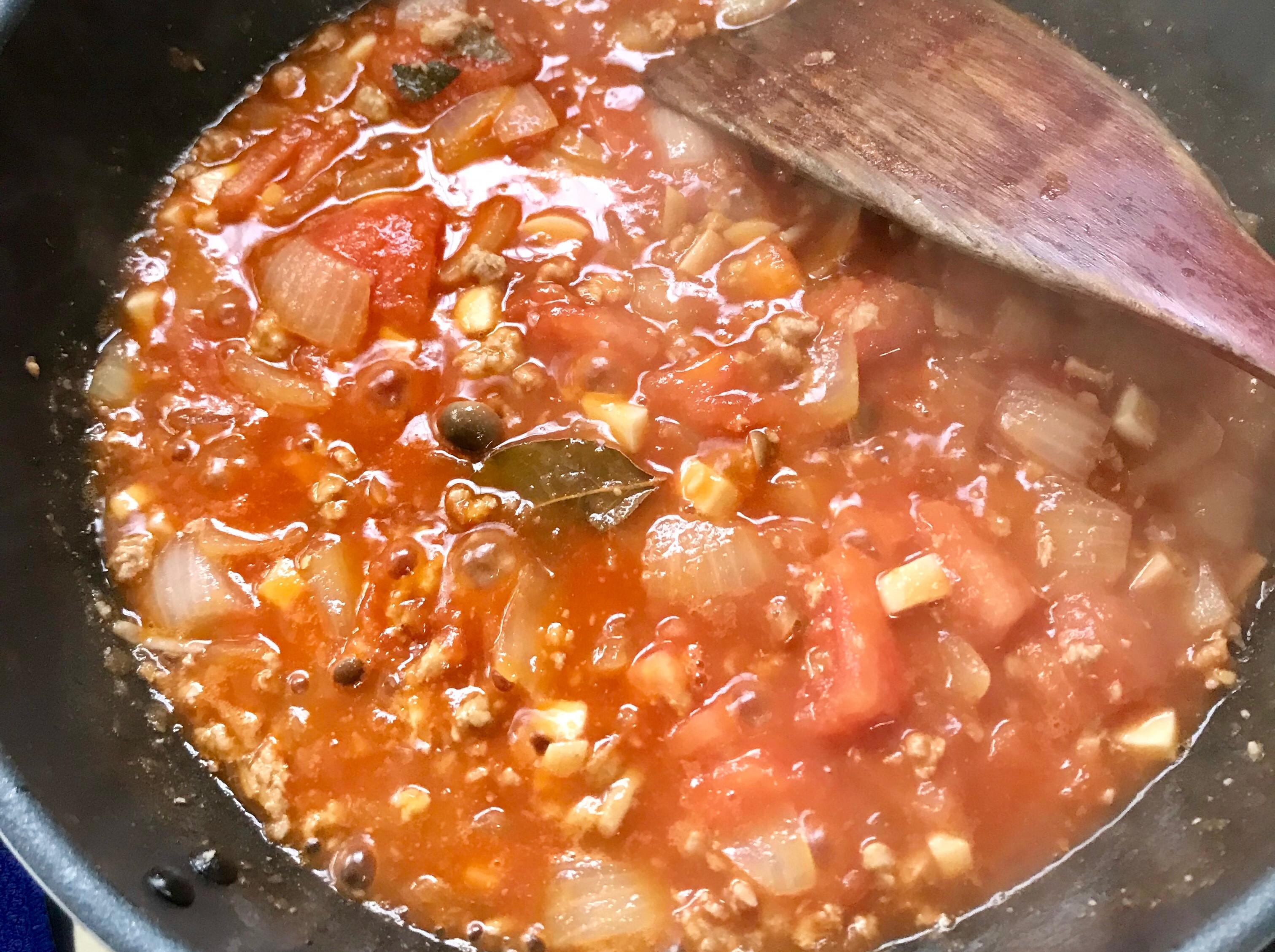 肉醬義大利麵;紅醬義大利麵
