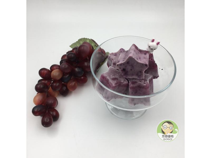 優格藍莓果凍