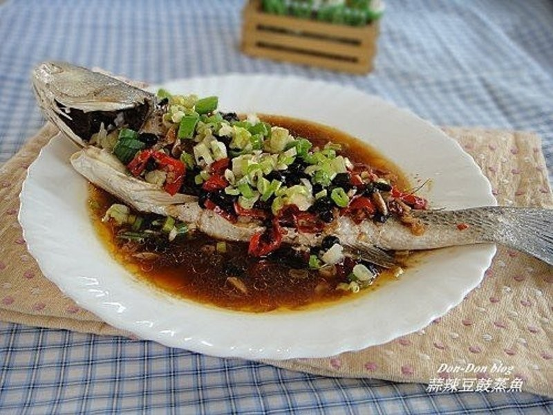 蒜辣豆鼓蒸魚