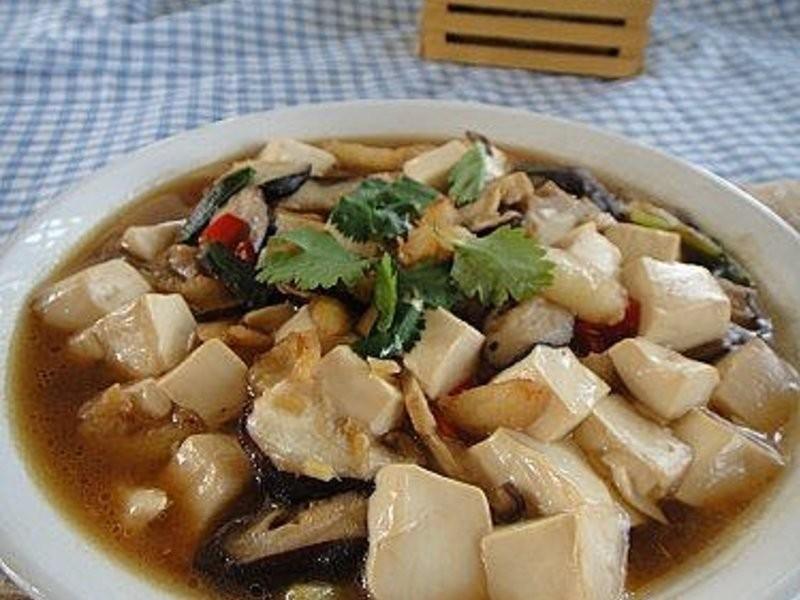 蟹腳肉燴豆腐