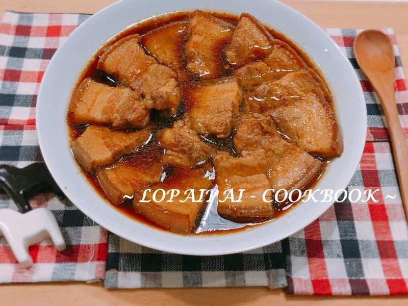 台式滷肉-五花肉