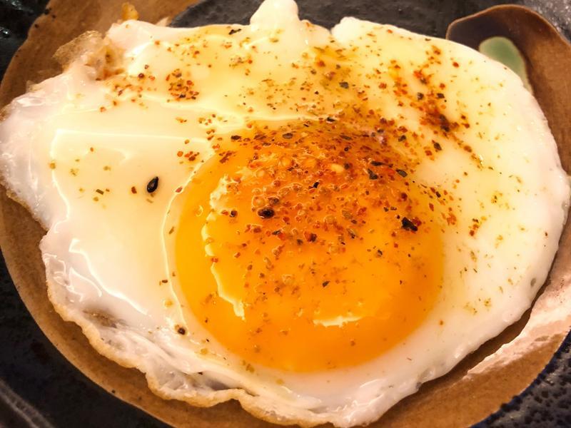 太陽蛋佐七味唐辛粉