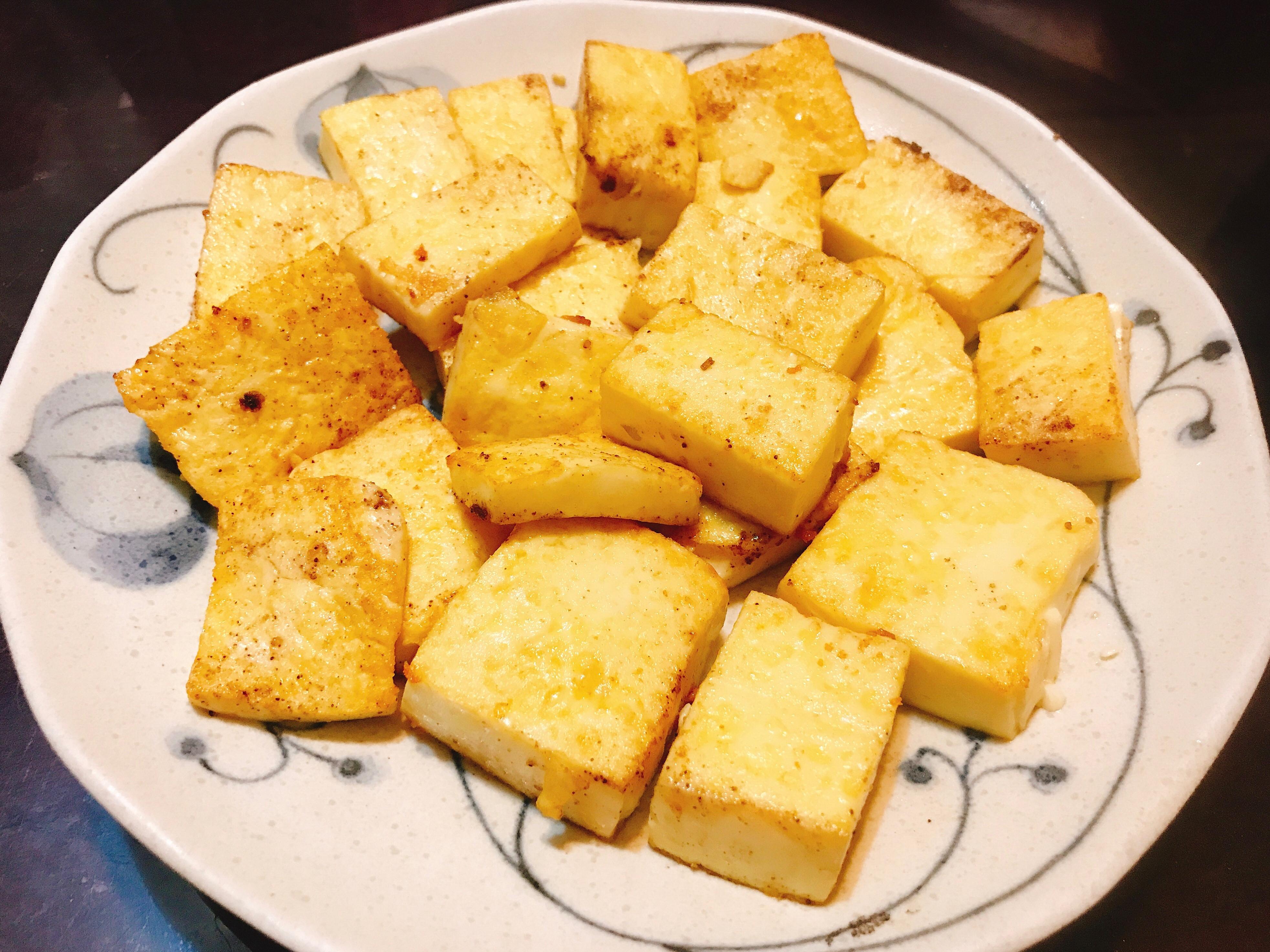 椒鹽雞蛋豆腐