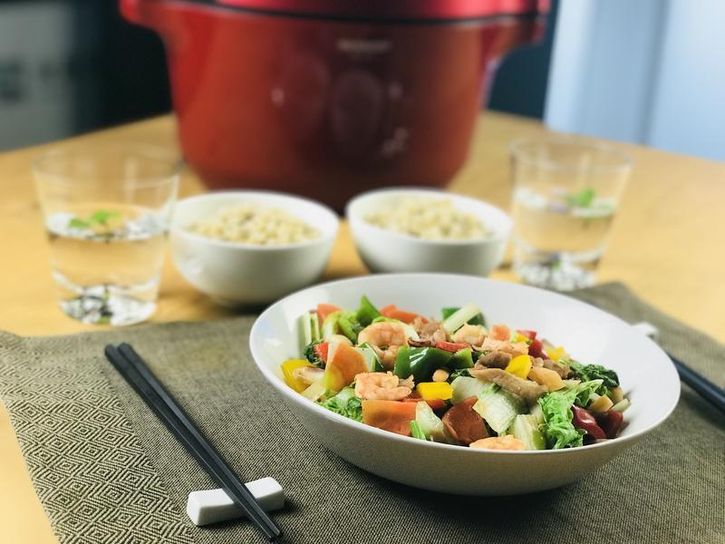 無水料理.八寶菜/0水鍋