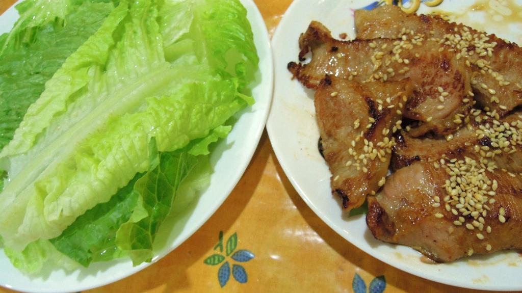 香煎松阪豬肉