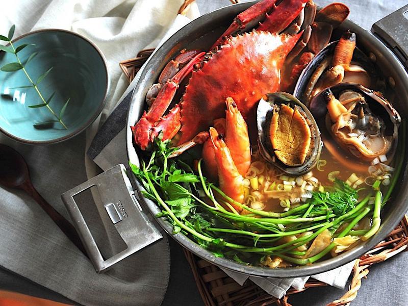 韓式海鮮鍋
