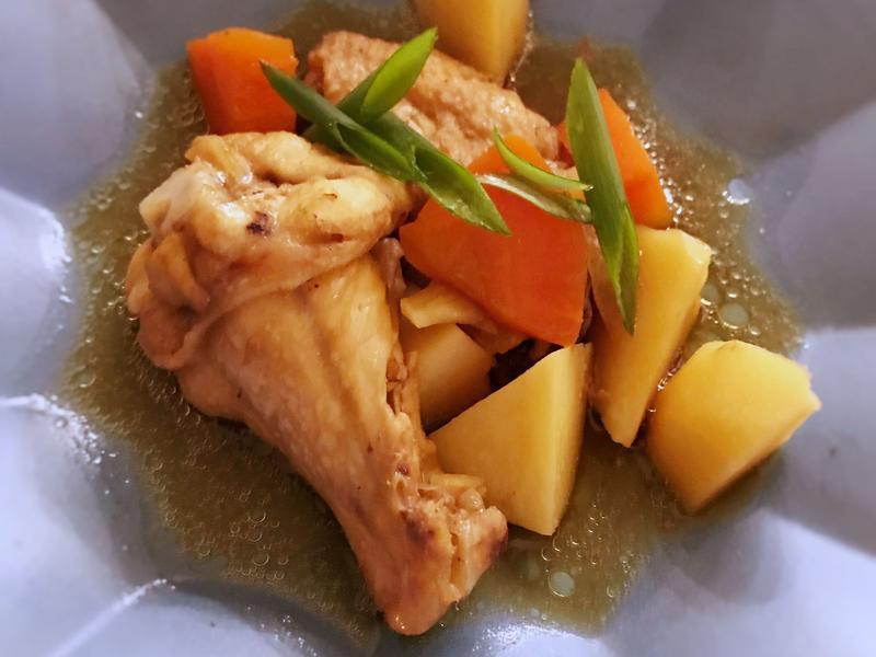 馬鈴薯雞翅煮 (露營OK)