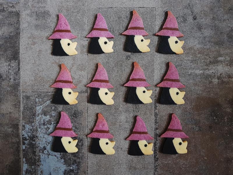 萬聖節【巫婆造型餅乾】免壓模