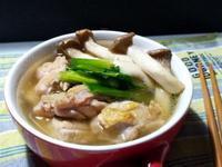 【杏鮑菇蔥雞湯】三材料三步驟超簡單料理