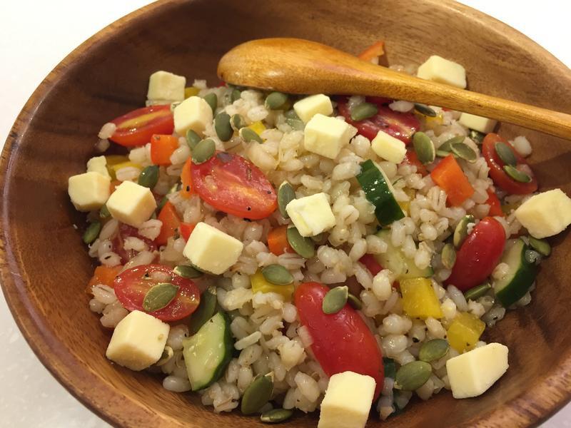 義式彩蔬珍珠麥沙拉