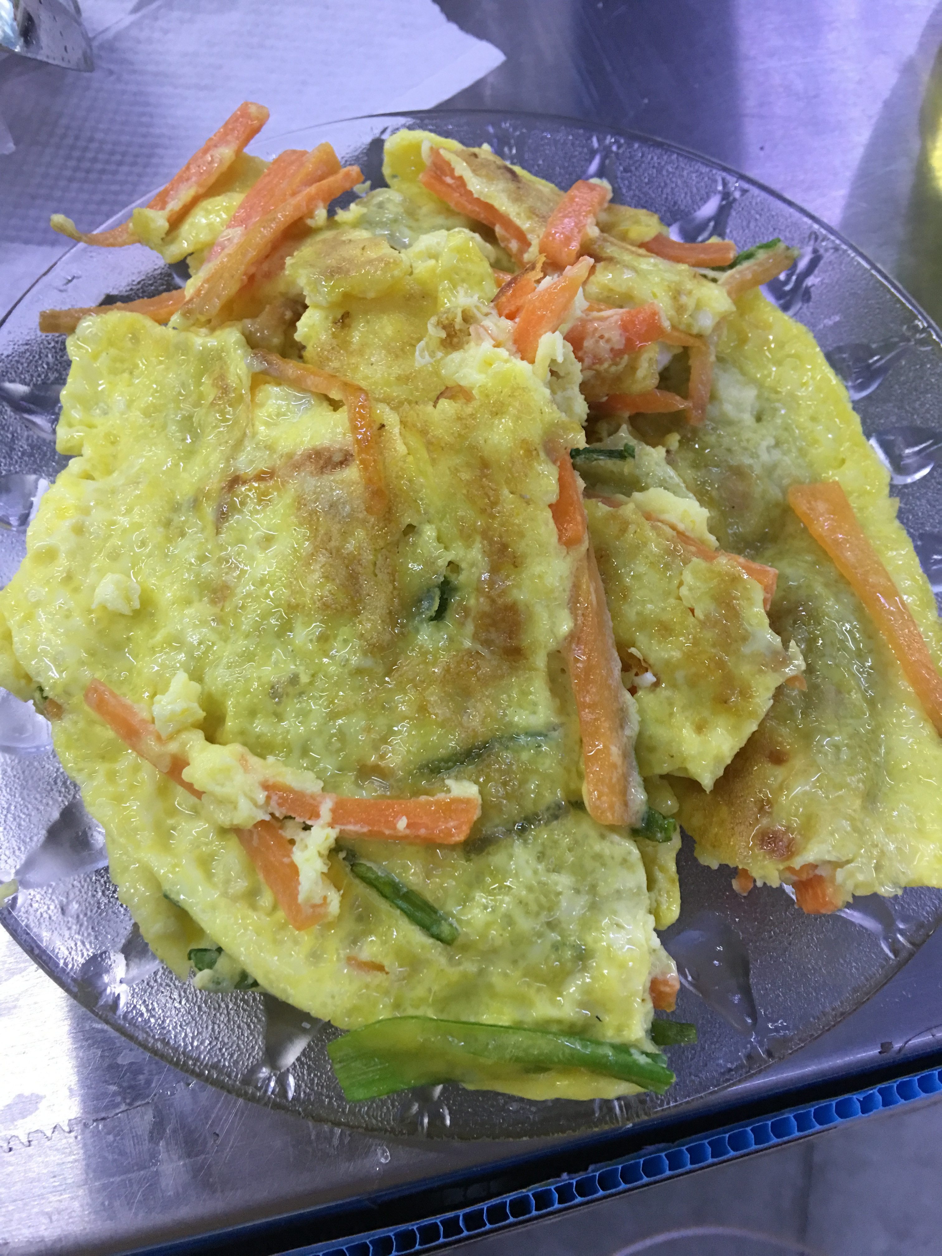 小蘋果之蔬菜煎餅~南京旗萬用鍋