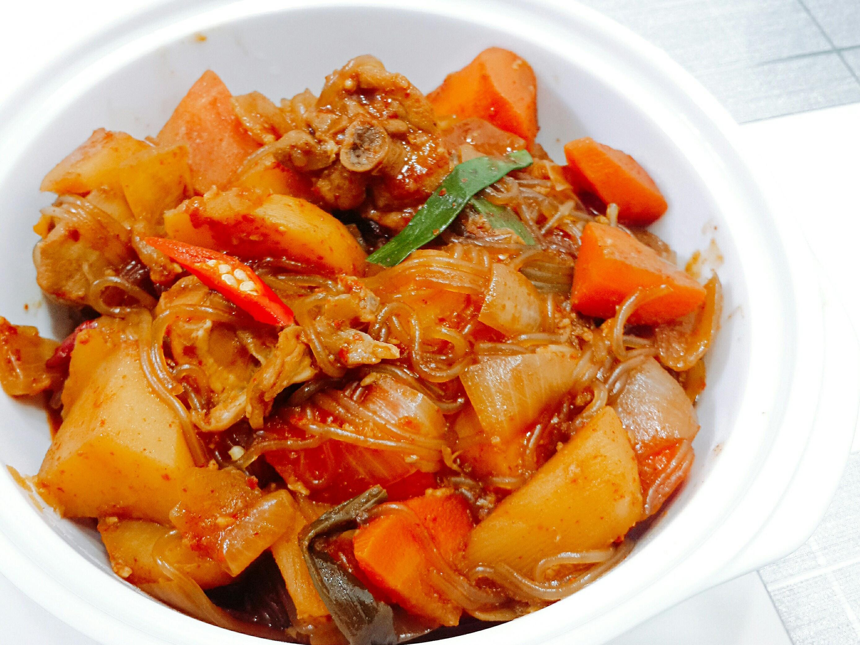 韓式安東燉雞(韓國辣椒粉版)